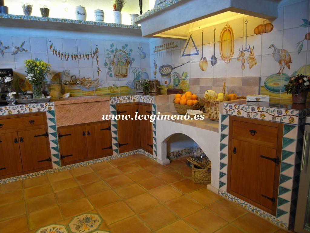 La ceramica valenciana de jose gimeno for Casa de azulejos en valencia