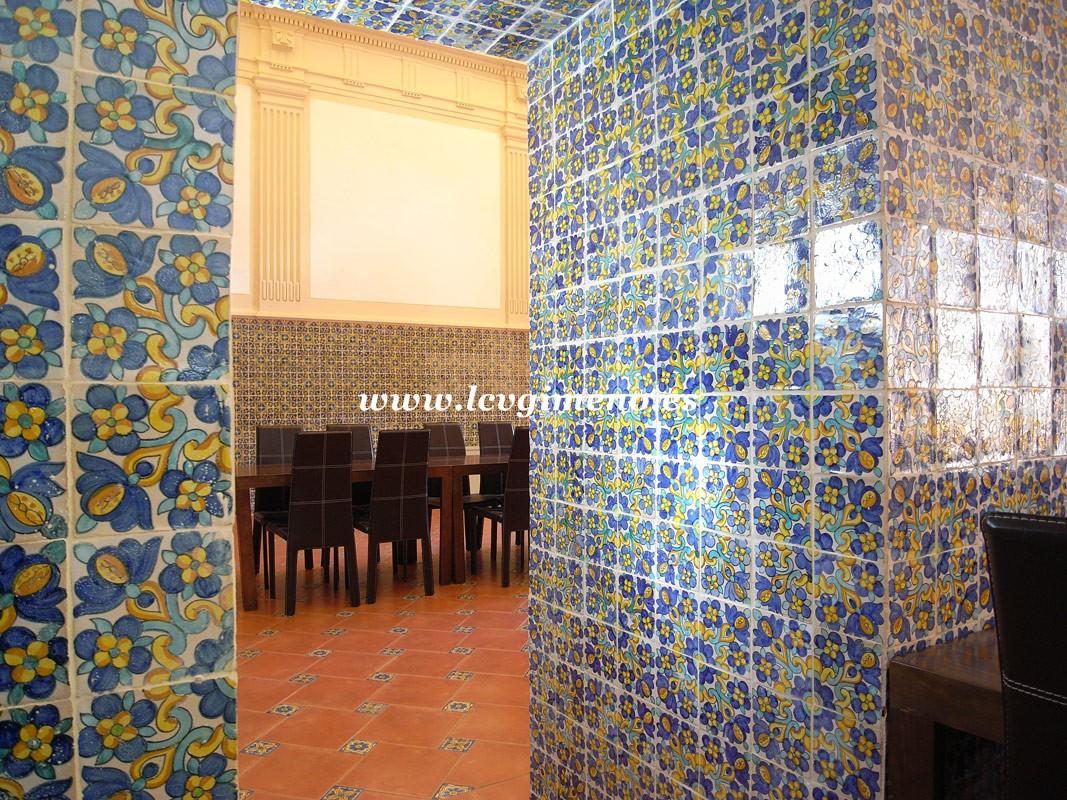 La ceramica valenciana de jose gimeno - Zocalos de azulejos ...