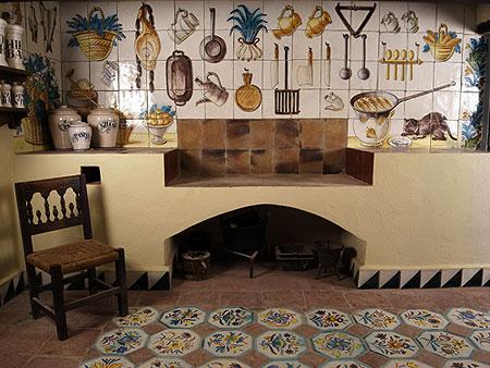 La ceramica valenciana de jose gimeno for Cocina valenciana
